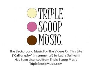 TripleScoop Music License Notice